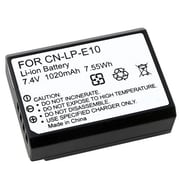 Insten® 369825 7.4 V Rechargeable Li-ion Battery For Canon LP-E10, Black