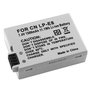 Insten® 280247 7.4 V Rechargeable Li-ion Battery For Canon LP-E8, Gray