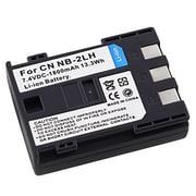 Insten® 287081 7.4 VDC Rechargeable Li-ion Battery For Canon NB-2LH, Black