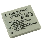 Insten® 247161 3.7 V Rechargeable Li-ion Battery For Canon NB-4L, Gray