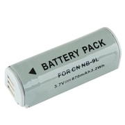 Insten® 320394 3.7 V Rechargeable Li-ion Battery For Canon NB-9L, Gray