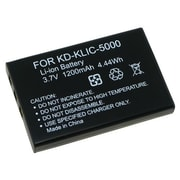 Insten® 217400 3.7 V Replacement Li-ion Battery For Kodak KLIC-5000, Black