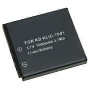 Insten® 212150 3.7 V Rechargeable Li-ion Battery For Kodak KLIC-7001, Black