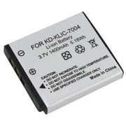 Insten® 230413 3.7 V Rechargeable Li-ion Battery For Kodak KLIC-7004/Fuji NP-50, Black