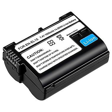 Insten® 1072199 2-Piece DV Battery Bundle For Nikon EN-EL15