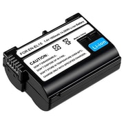 Insten® 1072199 2-Piece DV Battery Bundle For Nikon EN-EL15