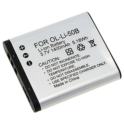 Insten 238943 3.7 VDC Rechargeable Li ion Battery For Olympus Li 50B 1010 1020 1030 White