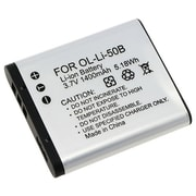 Insten® 238943 3.7 VDC Rechargeable Li-ion Battery For Olympus Li-50B/1010/1020/1030, White