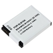 Insten® 266628 3.7 VDC Rechargeable Li-ion Battery For Samsung SLB-10A, Silver