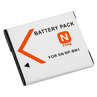 Insten® 316572 3.7 VDC Rechargeable Li-ion Battery For Sony NP-BN1, White