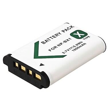 Insten® 730713 3.7 VDC Rechargeable Li-ion Battery For Sony NP-BX1, White