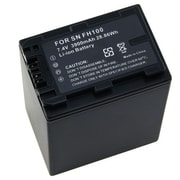 Insten® 239686 7.4 VDC Rechargeable Li-ion Battery For Sony NP-FH100/NP-FH70, Black