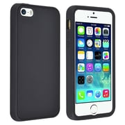 Insten® Silicone Case For Apple iPhone 5/5S, Black