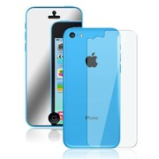 Insten® Front/Back Mirror Screen Protector For Apple iPhone 5C, Clear