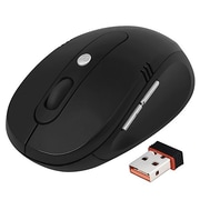 Insten 1693337 USB Wireless Optical Mouse, Black