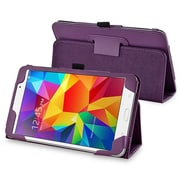 """Insten® Leather Stand Case For Samsung Galaxy Tab 4 7"""" T230, Purple"""