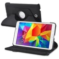 Insten® 360-Deg Swivel Leather Stand Cases For Samsung Galaxy Tab 4 8in. T330