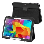 "Insten® Leather Stand Case For Samsung Galaxy Tab 4 10.1"" T530, Black"