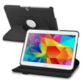 Insten® 360-Deg Swivel Leather Stand Cases For Samsung Galaxy Tab 4 10.1in. T530