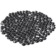 Insten® DIY 300 Piece 5mm Cell Phone Bling Set, Black