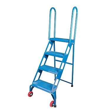 Kleton Portable Folding Ladders, 4 Step