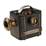 "Sterling Industries Carna Cregg 58251-101029 5"" Camera Decorative Display, Black/Antique Gold"