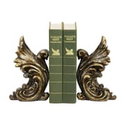 Sterling Industries 58293-55279 Set of 2 Gothic Gargoyle Decorative Bookends, Distressed Gold
