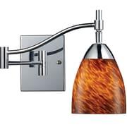 Elk Lighting Celina 210151-1PC-ES9 14 1 Light Swing Arm Lamp, Espresso Shade