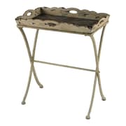 Sterling Industries 58251-101009 31 Rectangle Accent Table, Antique Cream
