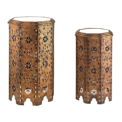 Sterling Industries 582138 Metal Sets Table, Gold, 2/Set (582138-135-S29) 1391573
