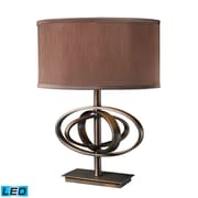 "Dimond Lighting Jordan 582D1803-LED9 23"" Table Lamp, Oil Rubbed Bronze"
