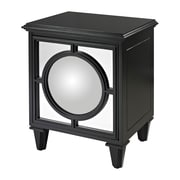 Sterling Industries Mirage Ebony 582136-0059 Accent Cabinet, Black