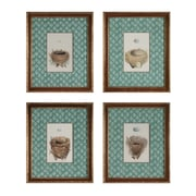 "Sterling Industries ""Nest and Eggs - Set of 4"" Framed Wall Art, 18""H x 15""W"