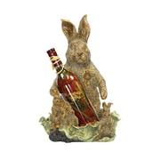 "Sterling Industries Industries 58291-15589 1 Bottle 16.25"" Rabbit Wine Holder"