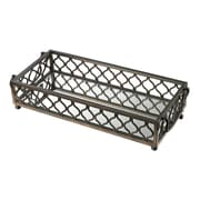 Sterling Industries 582114-939 Metal Frame Tray, Bronze