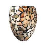 "Elk Lighting Trego 58260019-19 10"" x 8"" 1 Light Wall Sconce, Dark Rust"