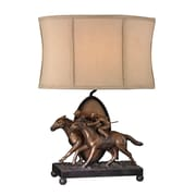 "Sterling Industries Winning Post 58293-193869 25"" Incandescent Accent Table Lamp, Blyth Bronze"