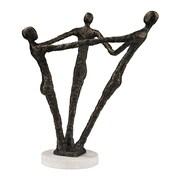 "Sterling Industries 582148-0159 12"" Ensamble Sculpture, Bronze"