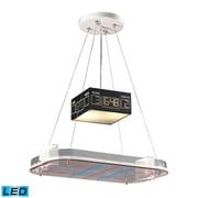 Elk Lighting Novelty 5825138-2-LED9 9 2 Light Pendant, Satin Nickel