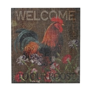 "Sterling Industries ""Welcome Cockrel - Welcome To Our Roost"" Wall Art, 16""H x 15""W"