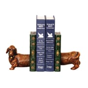 Sterling Industries 58293-57849 Set of 2 Peppy Decorative Bookends, Brown