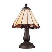 "Elk Lighting/Landmark Lighting Mix and Match 582080-TB-039 13"" Incandescent Table Lamp, Tiffany Bronze"