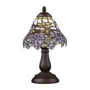 "Elk Lighting/Landmark Lighting Mix and Match 582080-TB-289 13"" Incandescent Table Lamp, Tiffany Bronze"