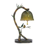 """Sterling Industries Perching Finch 58291-9329 17"""" Decorative Table Lamp, Burwell Bronze"""