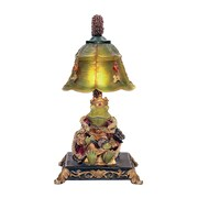 """Sterling Industries Resting Queen Frog 58291-3319 12"""" Decorative Table Lamp"""