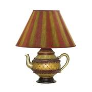 "Sterling Industries Tolbert Teapot 58291-7829 16"" Decorative Tabel Lamp, Bronze"