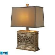 """Dimond Lighting Laurel Run 582D1443-LED9 25"""" Table Lamp, Courtney Gold"""