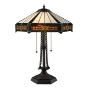 "Dimond Lighting Filigree 582D18529 22"" Incandescent Table Lamp, Tiffany Bronze"