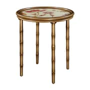"Sterling Industries 58260433809 22"" Round Vivian Accent Table, Gold"