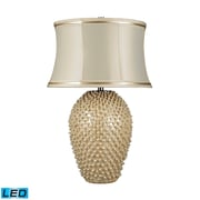 "Dimond Lighting Pineville 582D2112-LED9 27"" Table Lamp, Pearlescent Cream"